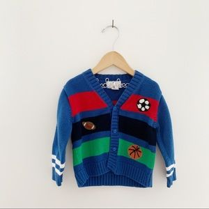 Florence Eiseman Sports Cardigan Sweater EUC